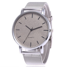 лучшая цена Luxury Women Watch Stainless Steel Nets Band Casual Clock Round Dial New Fashion Classic Ladies Wrist Watch Relogio Feminino