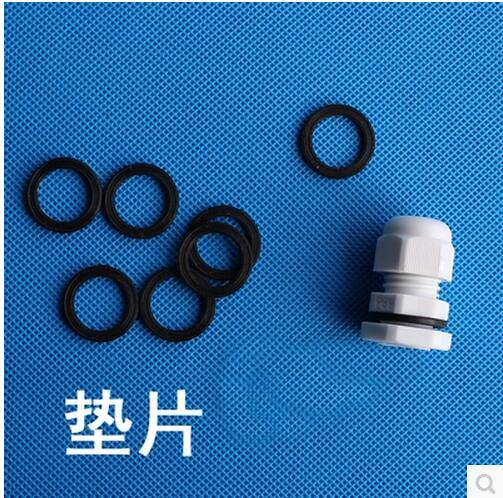 Hot Sale 10PCS PG48 Black Or White Plastic Connector Waterproof Cable Glands Ip68 China hot sale 4 pcs white plastic adjustable sheet grippers bedclothes clips