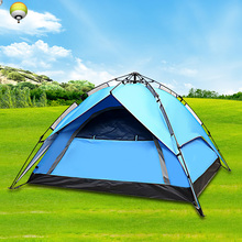 automatic Outdoor Camping Tent for Hiking Trekking Backpacking Fishing Three-Season Tent Oxford waterproof cloth Tourist Tent