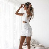 Bbonlinedress Sexy White Homecoming Dress 2020 In Stock Short Prom Dresses Backless Cocktail Dresses Vestidos de fiesta cortos