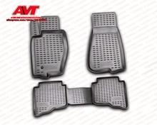 Коврики для Jeep Grand Cherokee 2006-2011 4 шт. Коврики Резиновые Нескользящие резиновые подкладке Тюнинг автомобилей аксессуары