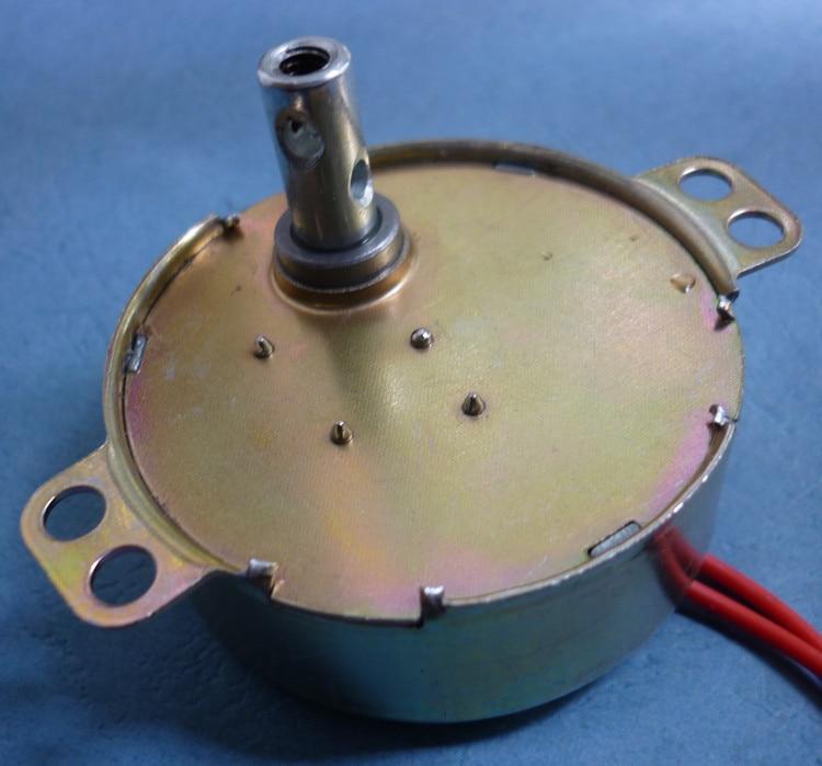 TYD49 CW/CCW Runde Klaue-Pol Permanentmagnet-synchronmotor 49TYD 220 V 5 RPM 15 RPM 30 RPM 33 RPM Boden-fans Bobble Kopf