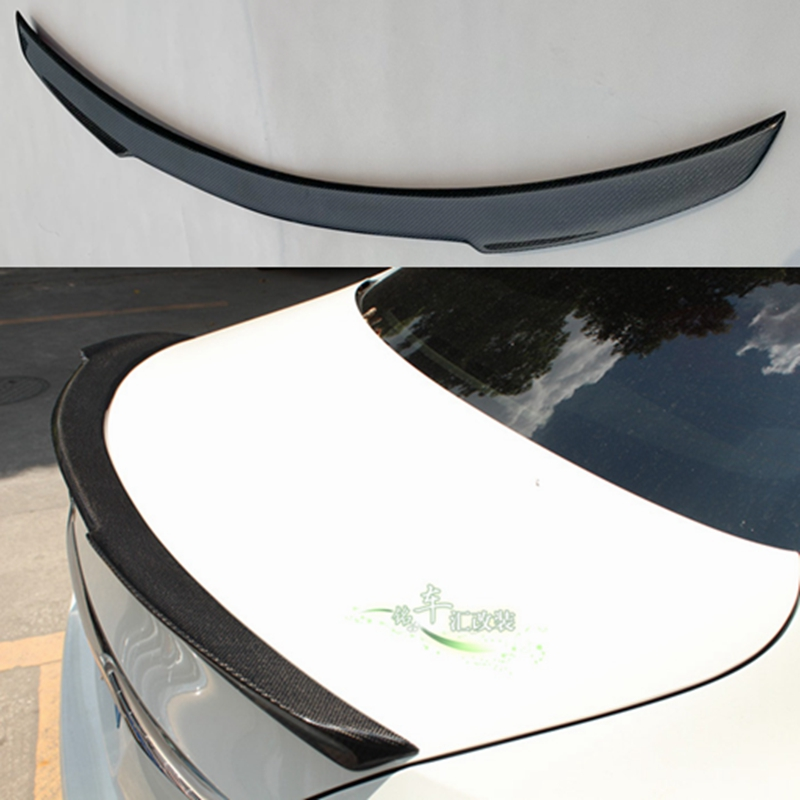 For Mercedes BENZ W205 carbon fiber Spoiler 4 Door Sedan FD style C180 C200 C260 Tail