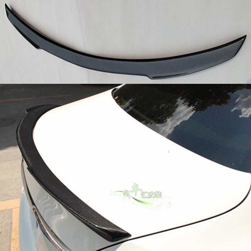 メルセデスベンツ W205 カーボンファイバースポイラー 4 ドアセダン FD スタイル C180 C200 C260 尾翼ため w205  グループ上の 自動車 &バイク からの スポイラー & ウィング の中 1