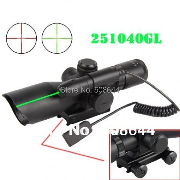 Tactical Green Laser Sight with 21mm Weaver Picatinny QR Rail Mount for Pistol