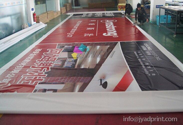 Al aire libre de vinilo de PVC publicidad colgante Francia gran Banner personalizado de impresión de gran Banner de la promoción (con la impresión de su obras de arte)