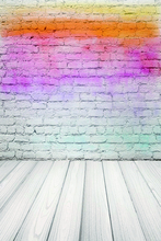 Laeacco Graffiti Wall Wooden Boards Painting Scene Photography Backgrounds Customized Photographic Backdrops For Photo Studio
