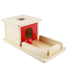 Wooden Montessori Practical Life Object Permanence Box with Tray Learning Educational Toys for Toddlers MI2744H