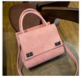 Hot  selling ladies 2017 leather&Suede handbags Women messenger bags women famous brand designer high quality ElUnico 1742