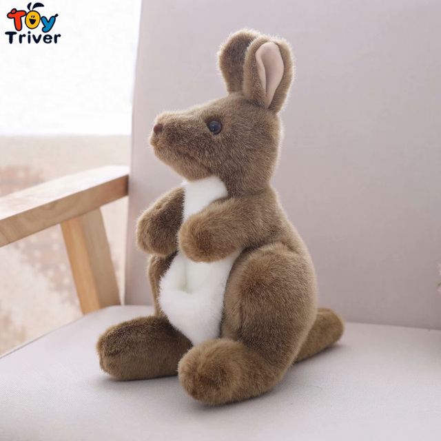 28cm Soft Plush Toys Cute Australia Kangaroo Stuffed Animals Doll