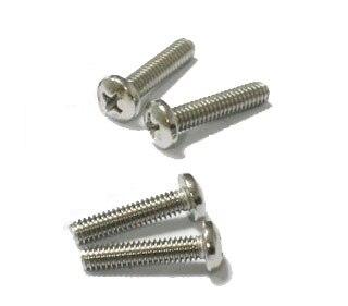 M6 Screws Stainless Steel Miniature Screws Pan Head Phillips Drive
