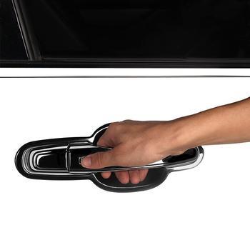 Carro Cromo Decorativo Modificado Adesivo Protetor de Maçaneta Da Porta Exterior Acessório de Moda Tira 18 19 PARA Chevrolet Equinox