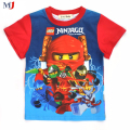 Boys Clothing Ninjago For 2016 New Fashion High Quality Summer Tops Short Sleeve Kids Clothes T Shirt