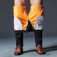 Marca de alta qualidade novo jeans quentes Fluff TANLIYINFU forrado inverno calças Flexível em linha reta jeans skinny preto homens 28-42 5354