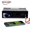 Neue ankunft 1 Din Auto Radio Player Stereo Audio In Dash unterstützung FM Aux SD USB MP3 Elektronik radio player-in Autoradios aus Kraftfahrzeuge und Motorräder bei
