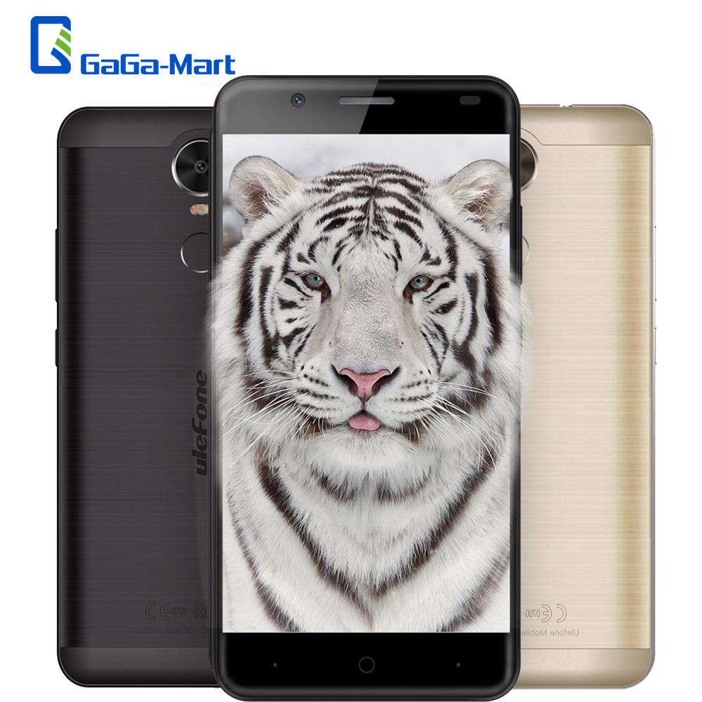"bilder für Ulefone Tiger 4200 mAh 4G Smartphone Android 6.0 MTK6737 Quad Core 2 GB + 16 GB 8MP Fingerprint OTG 5,5 ""zoll 1280*720 p Handy"