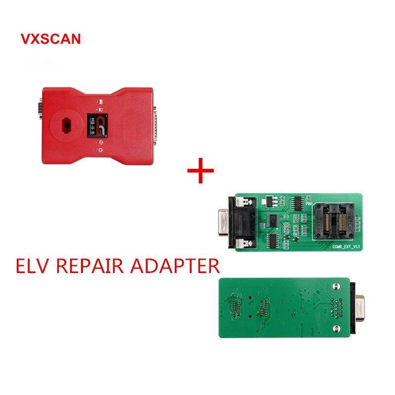 CGDI Prog МБ для Benz ключа автомобиля добавить быстрый для Benz Ключевые программист Поддержка все основные потерял плюс ELV ремонт адаптер/NEC адапт...