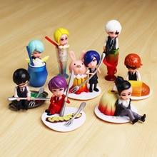 Anime Tokyo Ghoul 8Pcs/Set  Figure Toy PVC Doll