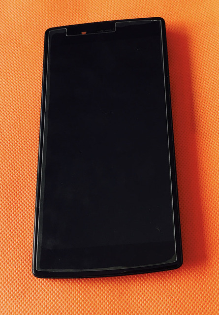 """Used Original Front LCD Display +Digitizer Touch Screen+Frame for Vernee Apollo X MTK6797 Deca Core 5.5"""" FHD 1920*1080 Free Ship"""