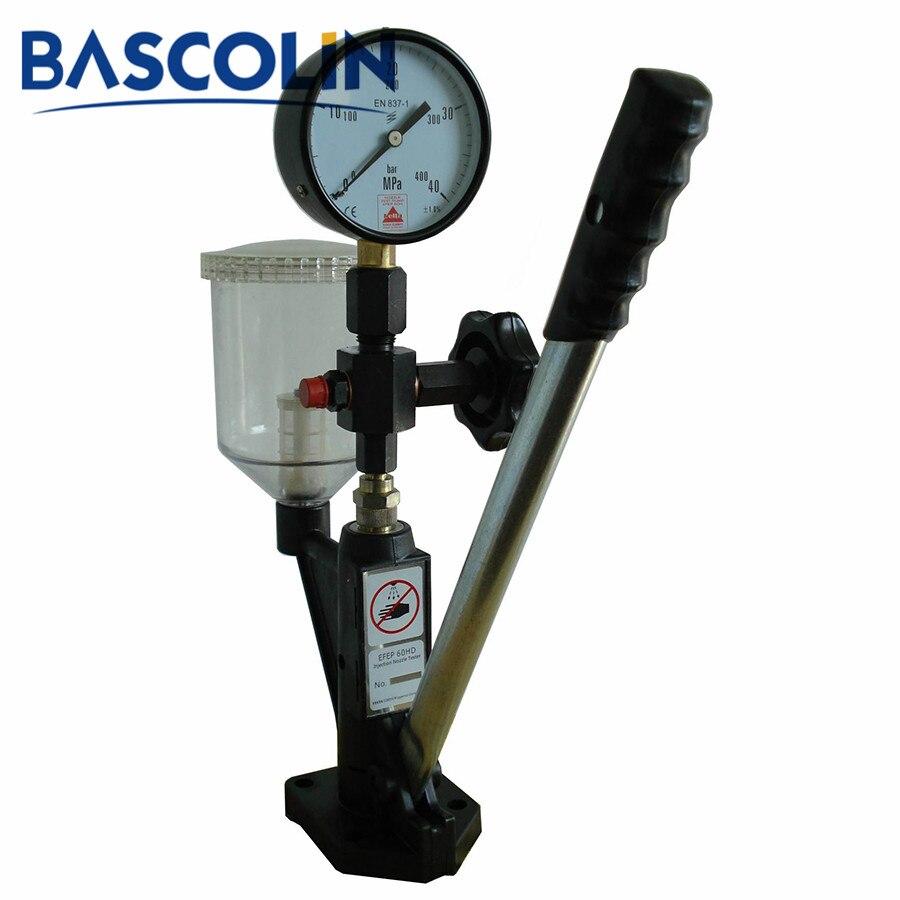 Machine de testeur d'injecteur à rampe commune S60H outils de testeur d'injecteur d'injecteur Diesel