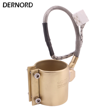 42x50mm 220 v 280 w barril de cobre eléctrico calentador de banda de latón para extrusora