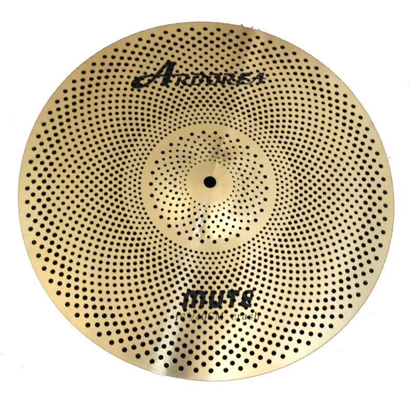 Arborea Medium Grade Gold Color Mute cymbals 16 Crash
