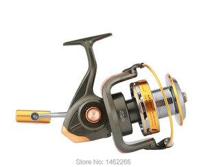 Image 3 - WOEN 10000 Full tipo copo fio de metal Âncora 12 + 1BB Barco carretel roda de Fiar pesca carretel CNC balancim