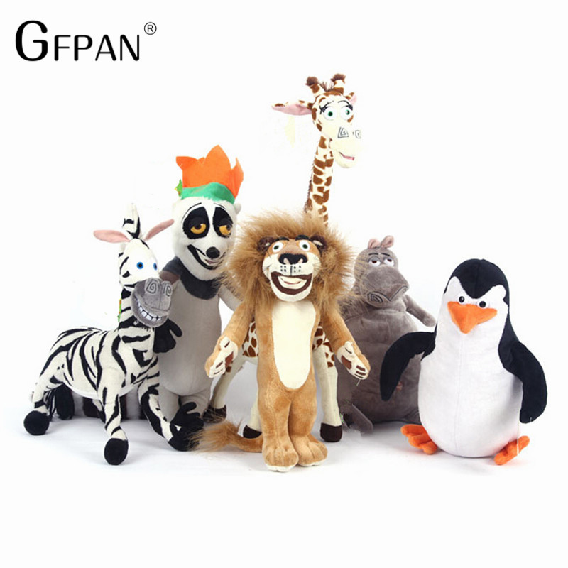HOT-SALE-MADAGASCAR-CHARACTER-TEAM-CHARACTERS-PLUSH-TOYS-ALEX-GLORIA-MARTY-MELMAN-GIA-JULIEN-STUFFED-TOYS (5)_