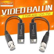 5Pairs BNC to UTP Cat5/5e/6 Video Balun HD Transceivers Adapter Transmitter Support 720P/1080P,AHD/CVI/TVI Camera 200M