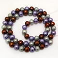 16 inches AA+ 7-8mm High Luster Multicolor Freshwater Pearl Loose Strand