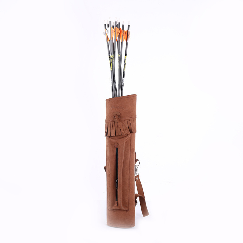 53.5cm Large Archery Arrow Quiver for Archery Arrows Recurve Bow Compound Bow Arrow Holder Shooting Hunting Quiver Holder 6 12pcs linkboy archery carbon arrow shaft 32inch 5 turkey feather arrow nock compound recurve bow hunting arrows shooting
