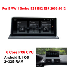 Android 8.1 Auto GPS Navi Radio Stereo Per BMW E81 E82 E87 E88 6-Core CPU 2005 + 2 + 32G RAM IPS Dello Schermo di Tocco di Lettore Multimediale BT