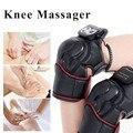 1 шт. коленный Массажер для физиотерапии Электрический коленный Магнитный Вибрационный Массажер Горячая компресс суставная физиотерапия У...