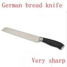 "2017 LD Marke 8 ""zoll brot messer Damaskus küchenmesser sharp japanischen VG10 kuchen messer koch tool micarta griff kostenloser versand"