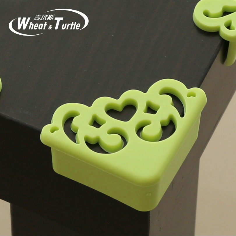 4Pcs/lot Hollow Out Flower Pattern Soft Baby Safe Corner Protector Baby Kids Table Desk Corner Guard Children Safety Edge Guards ...