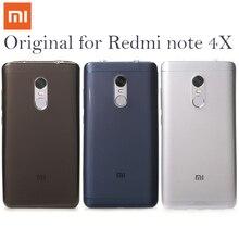"100% Orijinal Xiaomi Redmi Not 4X Kılıfları TPU Telefon arka kapak hongmi Note 4x Note4 x 4 Küresel yumuşak Kılıf tam Kapak koruma 5.5"""