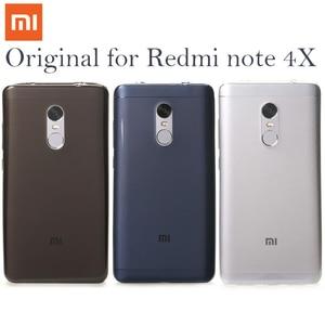 "Image 1 - 100%เดิมXiaomi R Edmiหมายเหตุ4XกรณีTPUโทรศัพท์ปกหลังh ongmiหมายเหตุ4x Note4 x 4ทั่วโลกsoft Caseเต็มฝาครอบป้องกัน5.5"""
