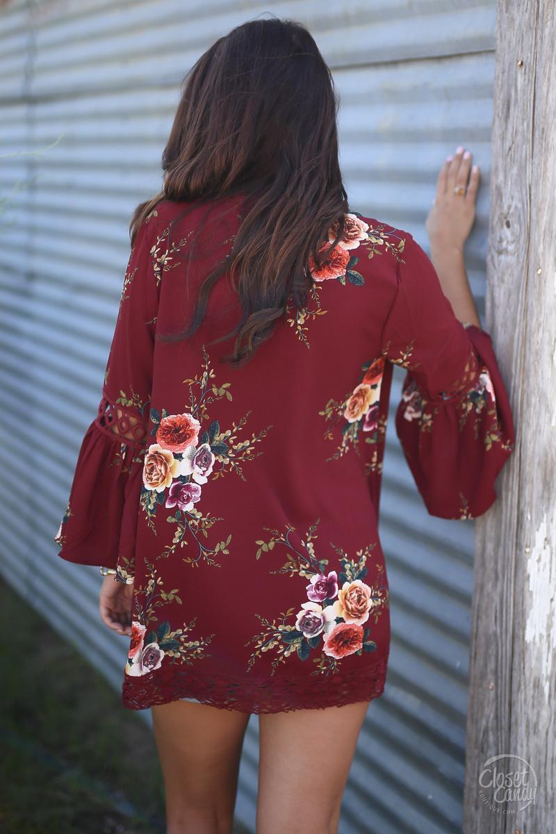 HTB1ERB vZyYBuNkSnfoq6AWgVXaC Women Plus Size Loose Casual Basic Jackets Female 2018 Autumn Long Flare Sleeve Floral Print Outwear Coat Open Stitch Clothing