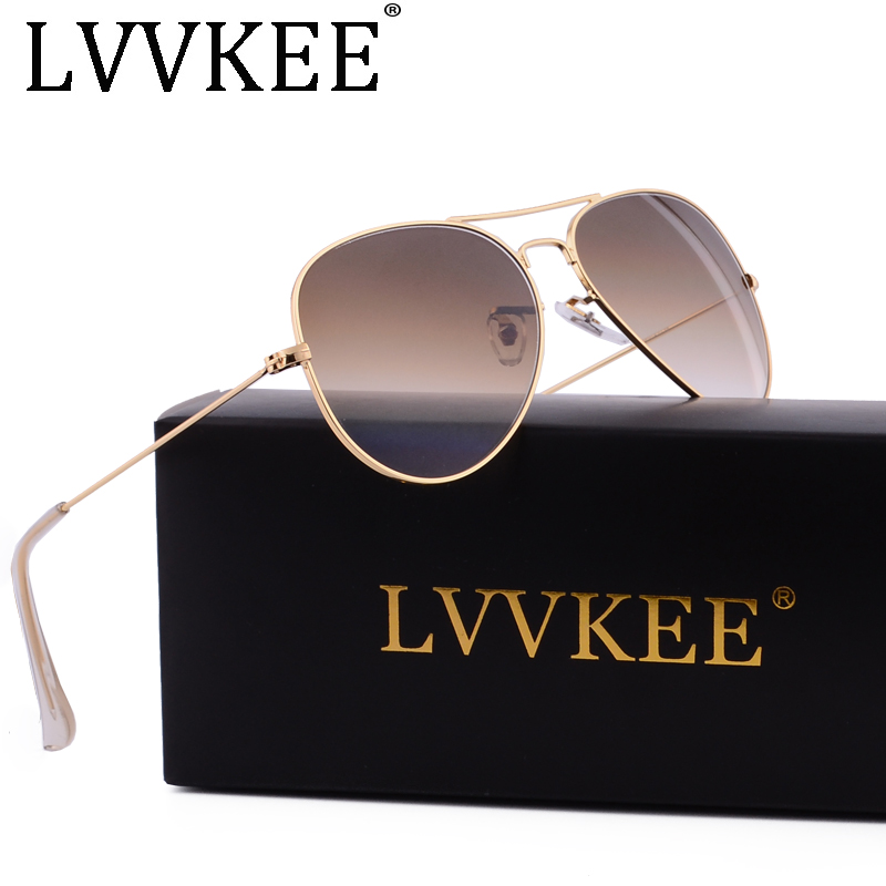 Hot Classic Brand skleněné čočky Gradient sluneční brýle pánské ženy Zrcadlové sluneční brýle Muž 58mm G15 objektiv gafas de sol mujer