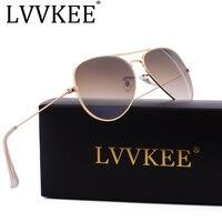 Hot Classic Brand Aviator Glass Lenses Gradient Sunglasses Men Women Mirror Sun Glasses Male 58mm G15