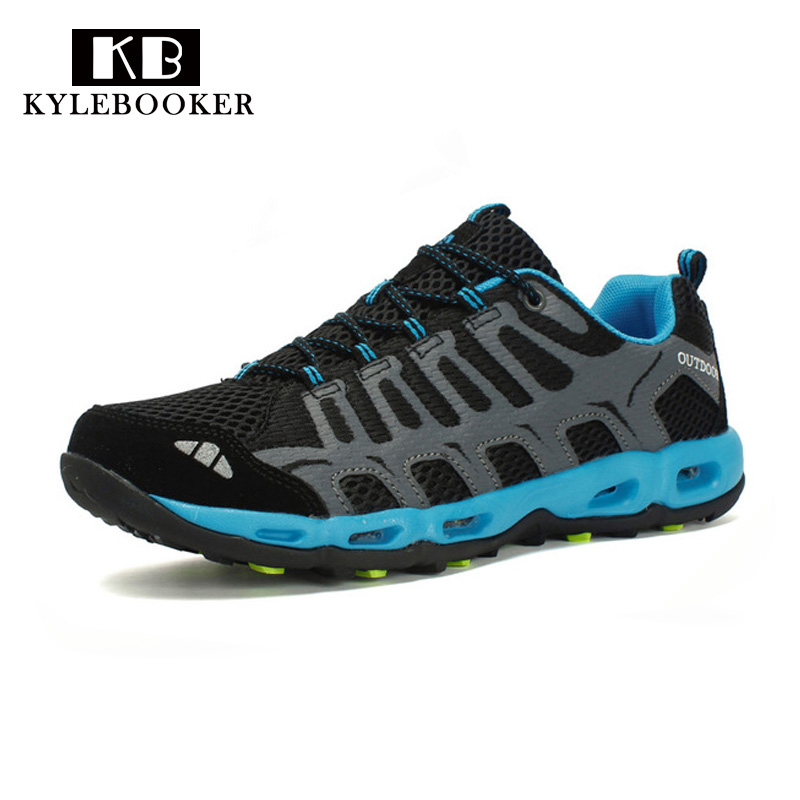 Outdoor Breathable Wading upstream Shoes Trekking Aqua Shoes Water Sports Hiking Sneakers Walking Fishing Anti slip