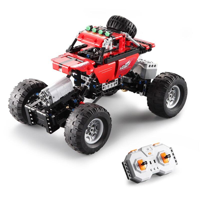 489 pièces Technique Série RC modèle voiture de sport de voiture SUV bricolage Building Block Voiture jouets briques Pour Enfants compatible avec Legoed - 3