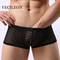 Hot Sale Men's Male Laces Underwear Men's Boxer Underwear Breathable De Marca Boxer Shorts Underwear Sexy Man Underpants
