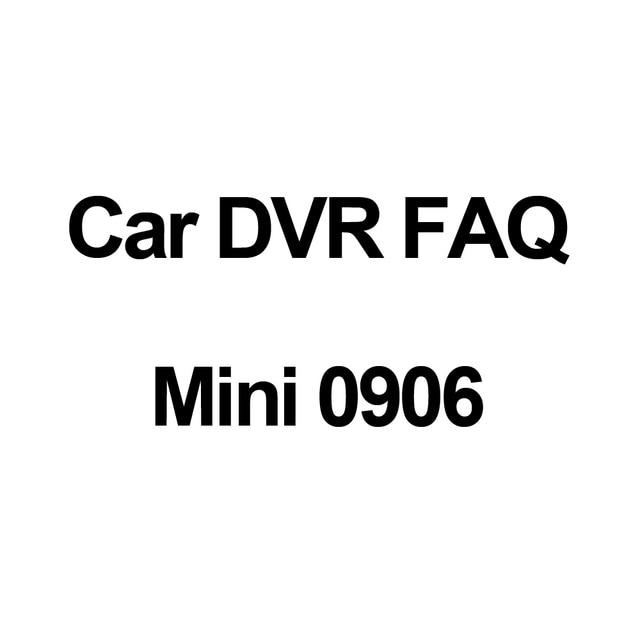 Conkim FAQ About Dual Lens Car Camera Mini 0906