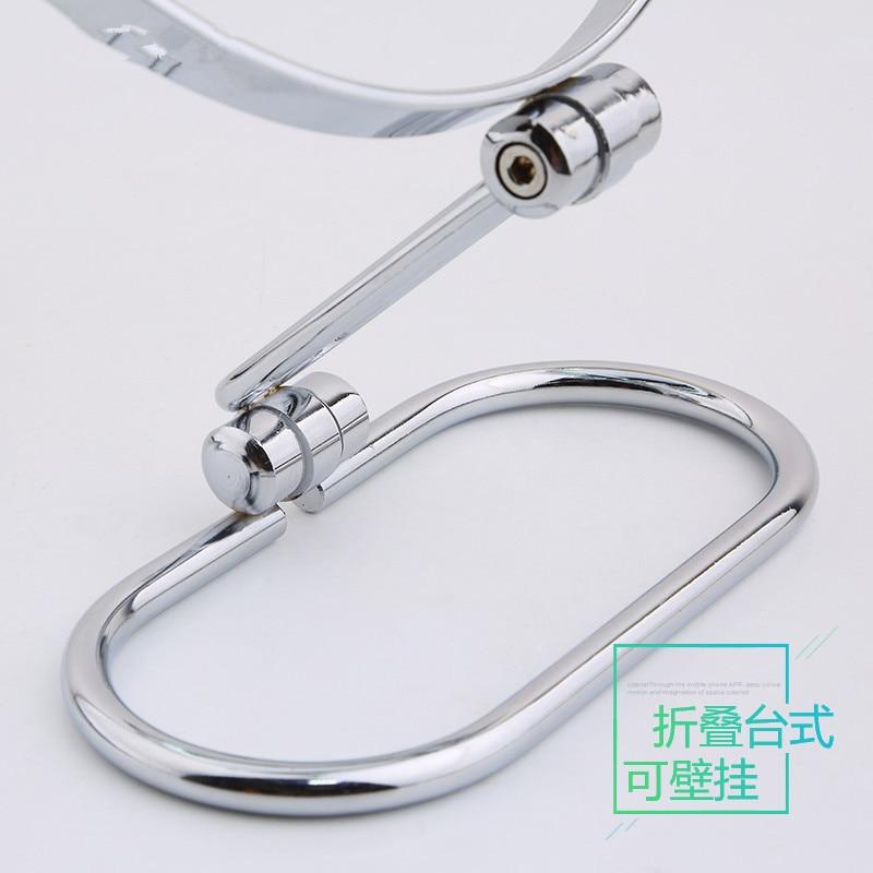 Pasqyrë kozmetike me tryezë SpringQuan 7 inç 2-pasqyrë metalike - Mjet për kujdesin e lëkurës - Foto 6