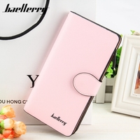 Hot Sale Women Lady Long Wallets Purse Female Colorful PU Leather Carteira Feminina For Coin Card