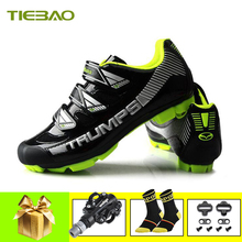 Tiebao Cycling Shoes SPD Pedals Men mountain bike shoes zapatillas ciclismo mtb breathable Athletic bicycle riding chaussure vtt santic men mtb cycling shoes pu breathable moutain bike shoes auto lock athletic bicycle shoes chaussure vtt zapatillas ciclismo