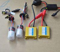 HID Xenon Conversion Kit Fari 12 V 35 W Cnhight Xenon Lampadina dritto H16 slim ballast SPEDIZIONE GRATUITA