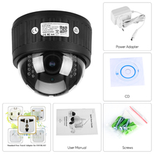 Indoor Wireless Revolving Dome IP Camera