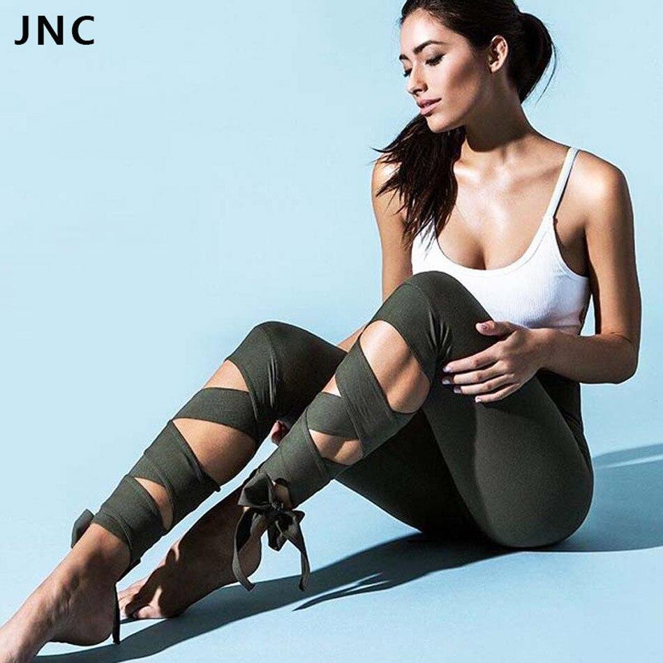 Prix pour Large bandage yoga pantalon pour les femmes participation leggings pour femmes vert olive pour d'entraînement de danse collants jnc3260